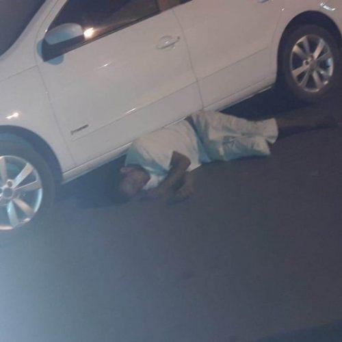 Assaltante leva facada em Picos e finge-se de morto para escapar da morte