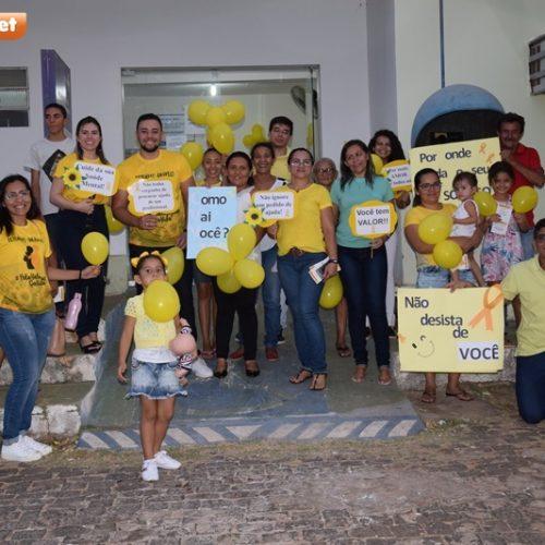 SETEMBRO AMARELO | Saúde de Picos realiza palestra em favor da vida na UBS Belinha Nunes