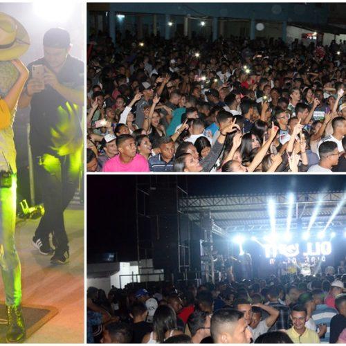 Confira fotos dos shows de Thullio Milionário, Zé Vaqueiro e Layane no Mania do Forró em Jaicós
