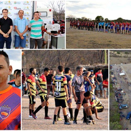 Campeonato Municipal é aberto em Massapê do Piauí com 10 times e R$ 6,1 mil de premiação