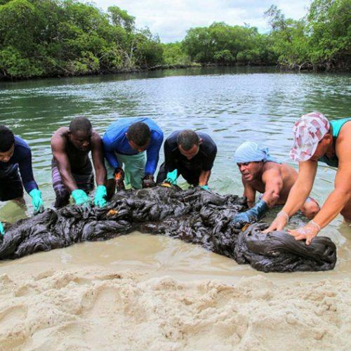 Entenda os efeitos que as manchas de óleo no litoral do Nordeste podem causar na pele