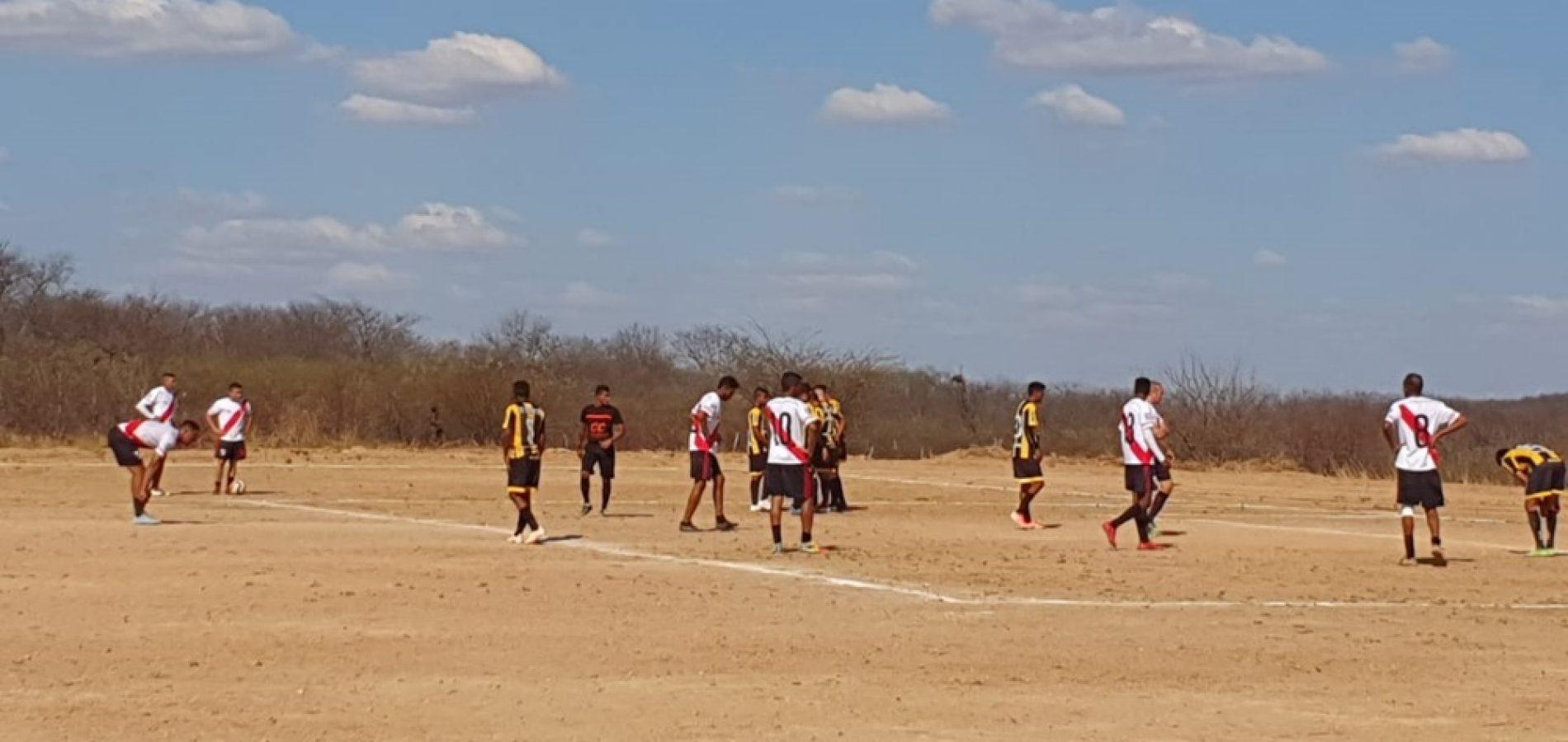 Quatro jogos movimentam a rodada no Campeonato Intermunicipal de Futebol em Francisco Macedo