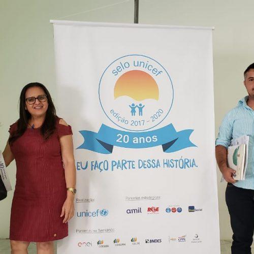 BELÉM | Membros da Comissão Intersetorial participam do 5º ciclo de capacitação do Selo Unicef em Oeiras