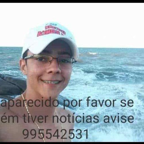 Jovem de 22 anos desaparece em parada de ônibus em cidade do Piauí