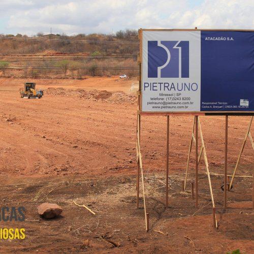 Atacadão inicia construção de unidade em Picos e deve gerar mais de 300 empregos diretos