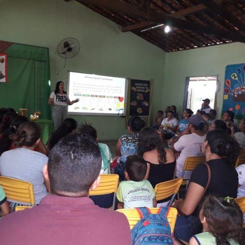 Em Vera Mendes, palestra orienta sobre alimentação saudável e prevenção a obesidade