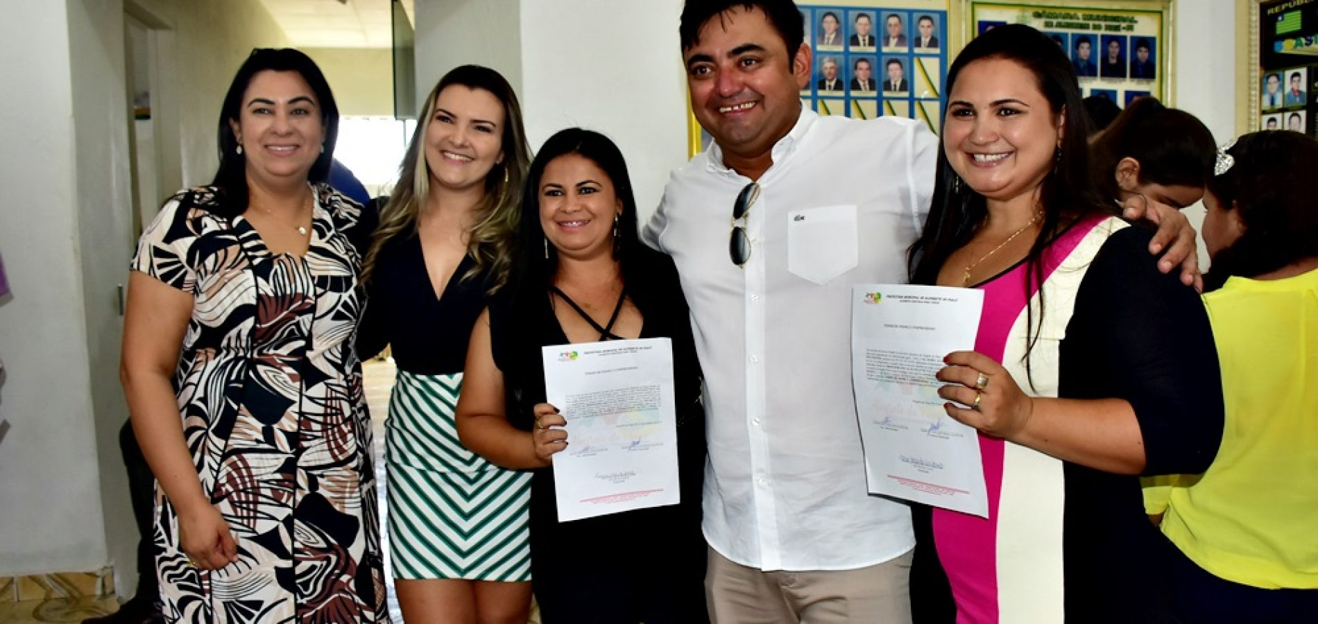 Prefeitura de Alegrete empossa 91 aprovados no concurso público; veja fotos