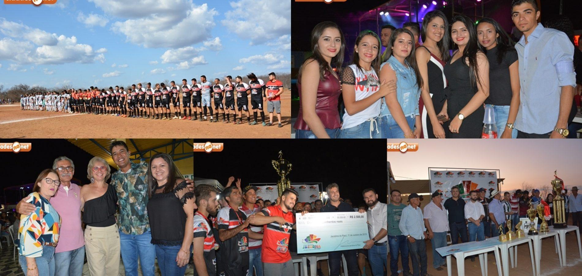Veja as fotosda final do 14º Campeonato de Futebol e dos shows dos festejos de Jacobina do PI