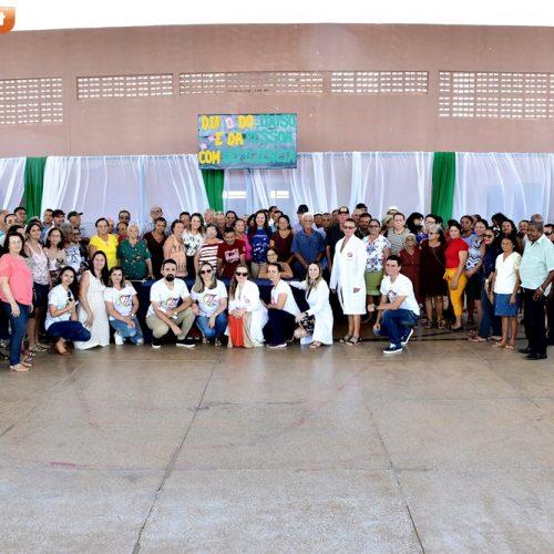 Em Santana, Secretaria de Assistência Social promove Dia 'D' do Idoso e da Pessoa com Deficiência; fotos