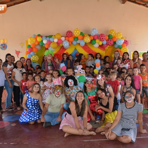 Dia da Criança é comemorado nas Creches de Patos do Piauí