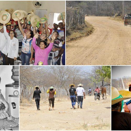 Vivenciando o Mês Missionário, Paróquia de Padre Marcos realizava visitas às comunidades