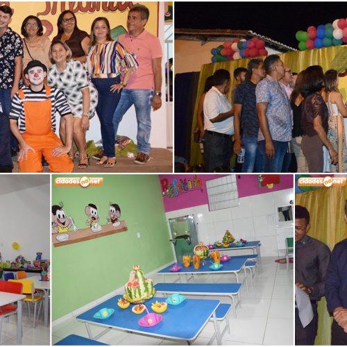 Após reforma e ampliação, Prefeitura de Geminiano reinaugura Escola Infantil Tia Rosa