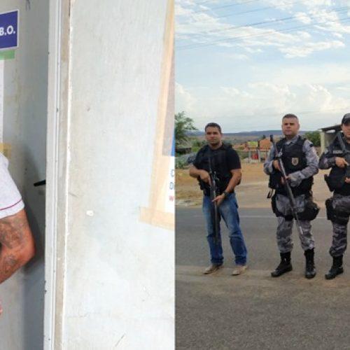 Polícia prende suspeito de matar filho de militar em Paulistana e roubar motocicleta na zona rural de Jacobina