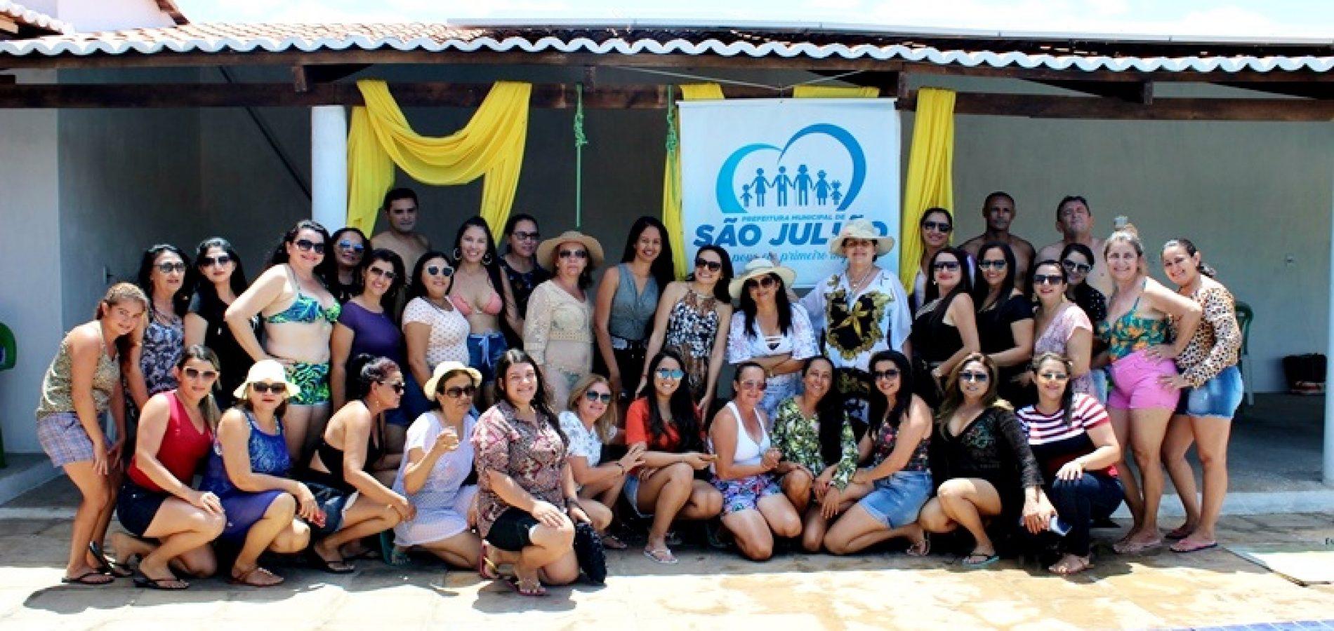 SÃO JULIÃO | Gestão de Dr. Jonas promove dia de lazer em comemoração ao Dia do Professor; fotos