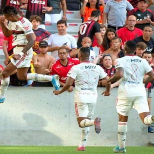 Bruno Henrique brilha, Flamengo quebra tabu e vence Athletico na Arena da Baixada