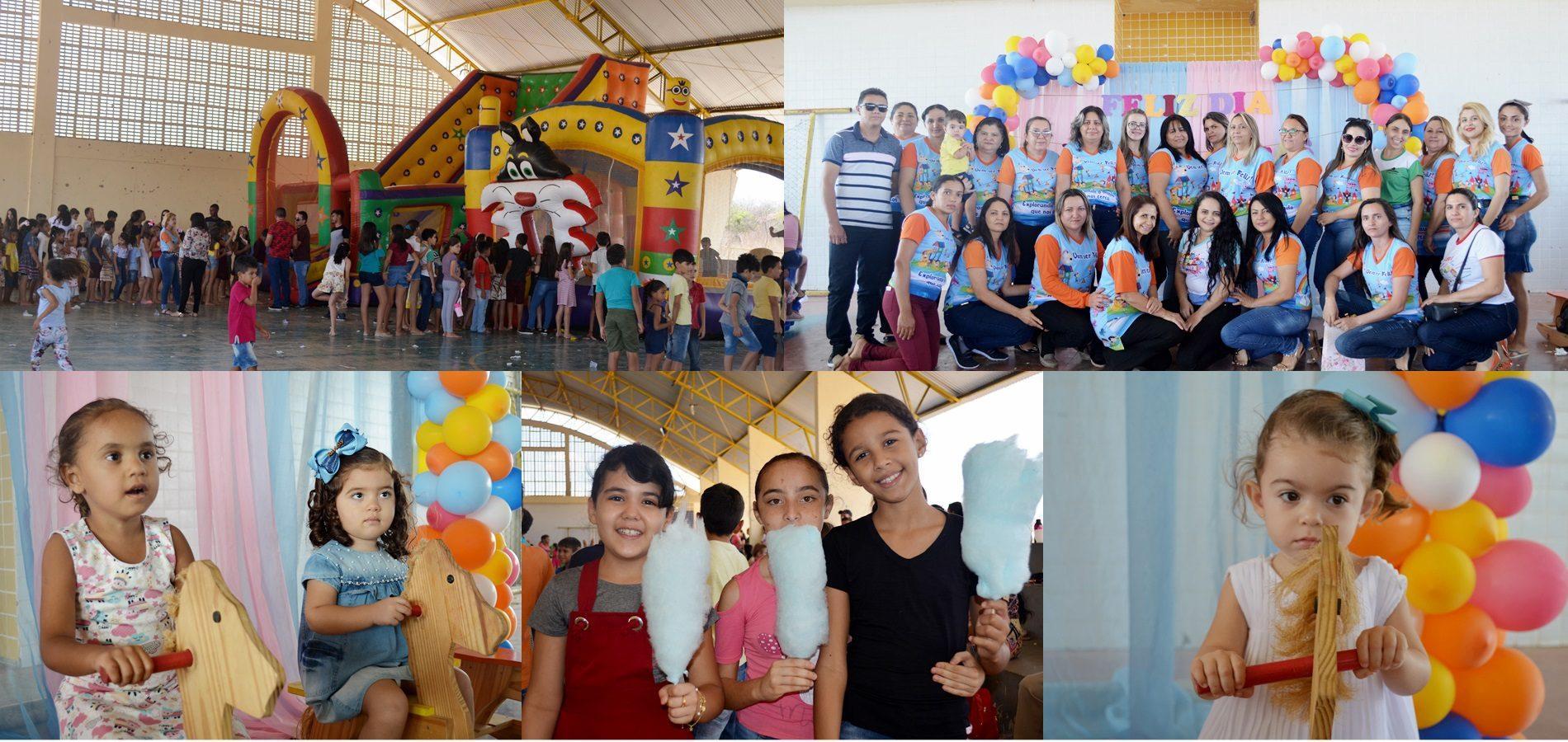 Prefeitura de Belém do Piauí promove evento em comemoração ao Dia das Crianças