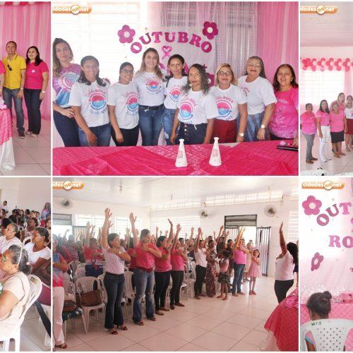 JAICÓS | Evento orienta mulheres sobre a prevenção ao câncer de mama e encerra campanha Outubro Rosa