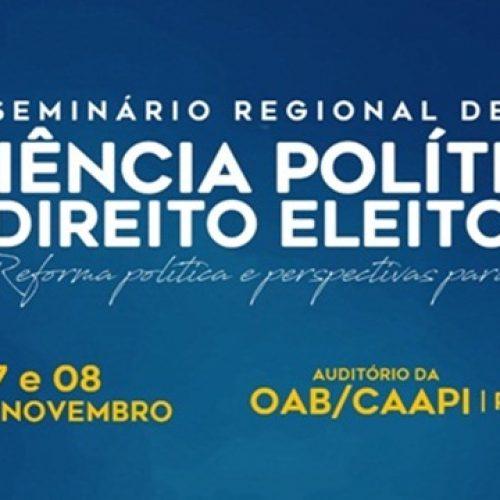 Curso de Direito da Uespi de Picos promove seminário de ciências políticas e traz Eduardo Suplicy