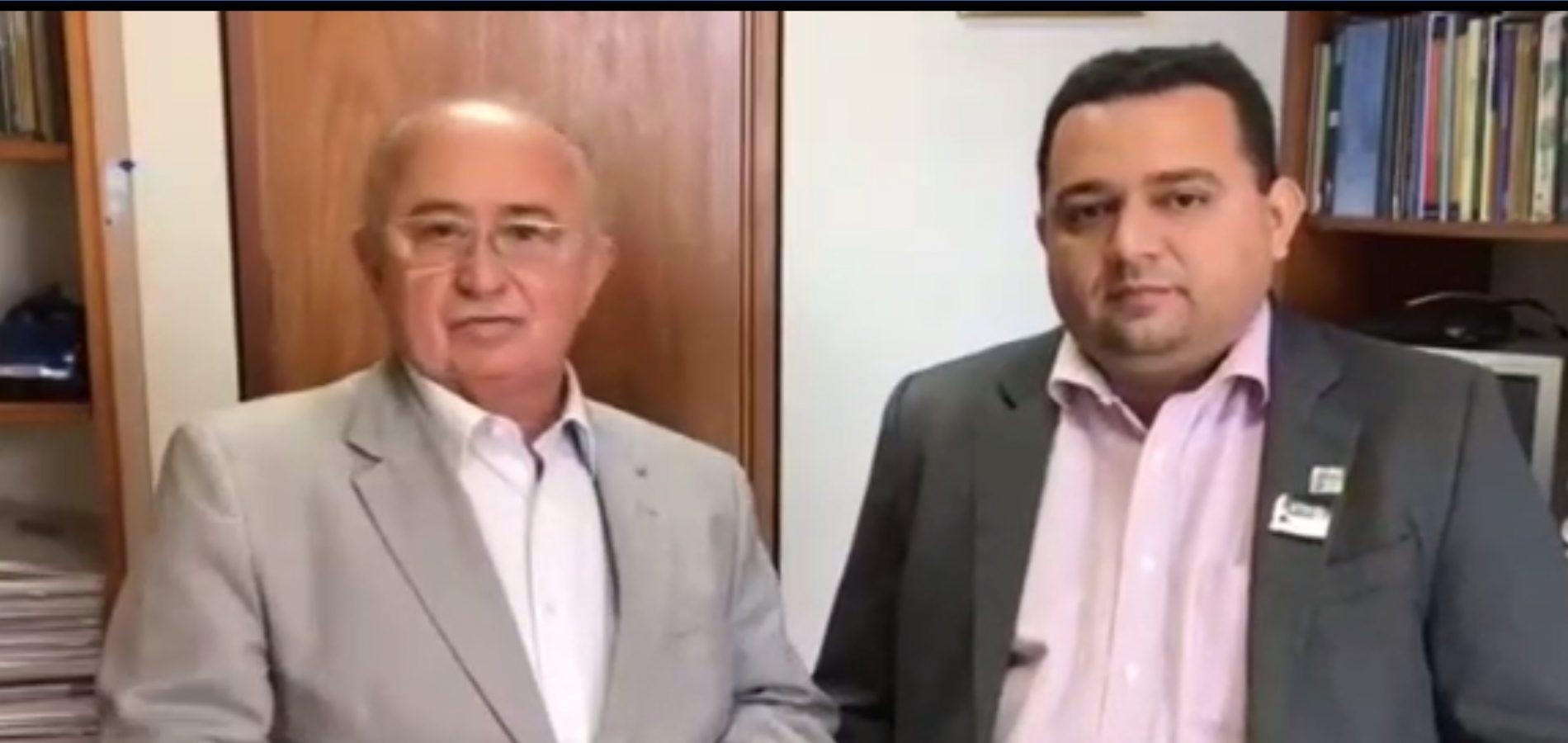 Em Brasília, prefeito Toninho confirma a liberação do Garantia Safra para Caridade do Piauí