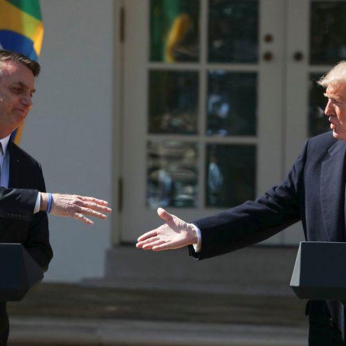 """Trump: """"Declaração em março deixa claro que apoio Brasil na OCDE"""""""