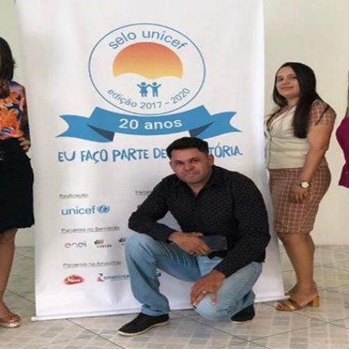 Representantes de Vera Mendes participam do 5º Ciclo de Capacitação do Selo Unicef em Oeiras