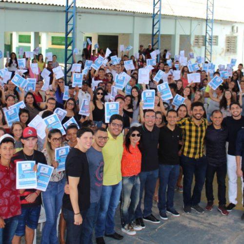 PIO IX | Vereador Fanuel Adauto realiza Caravana Pré-Enem e beneficia cerca de 300 jovens