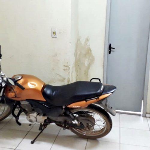 Polícia Militar de Francisco Macedo recupera moto roubada