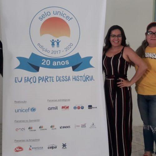 Representantes de Fronteiras participam do 5º Ciclo de Capacitação do Selo Unicef