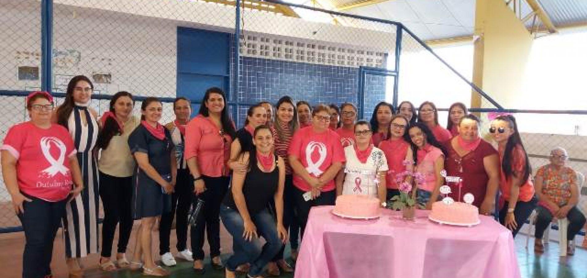 Saúde de Caldeirão Grande do Piauí intensifica ações da campanha 'Outubro Rosa'