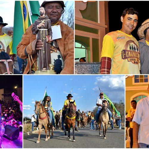 Prefeitura de Curral Novo realiza primeira Cavalgada e Missa do Vaqueiro ; Fotos !