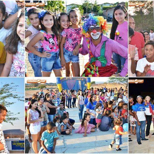 SIMÕES | Prefeitura Municipal realiza atividades lúdicas em comemoração ao Dia das Crianças