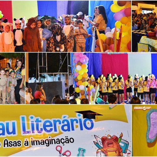 FOTOS | Confira as imagens do 1º Sarau Literário em Curral Novo do Piauí