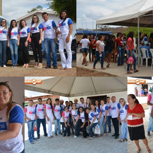 Caravana Rosa mobiliza contra câncer de mama e leva atendimentos para o interior de Caridade; 120 mamografias já foram realizadas