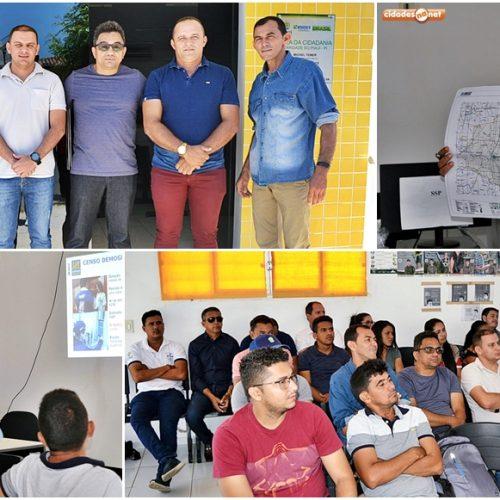 IBGE realiza reunião preparatória para o Censo 2020 e projeta visitar 1.276 domicílios em Caridade do Piauí
