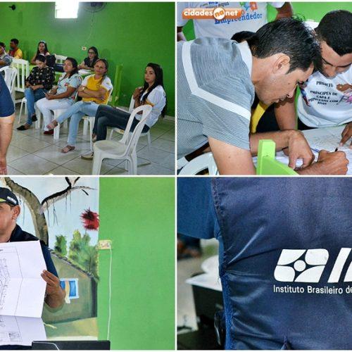 IBGE realiza reunião de planejamento e acompanhamento para o Censo 2020 em Curral Novo do Piauí