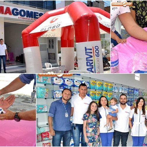 """FarmaGomes realiza """"Manhã da Saúde"""" com promoções e sorteios em Simões"""