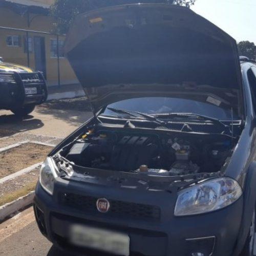 PRF recupera veículo roubado e prende idoso com passagem por homicídio e assalto em Picos