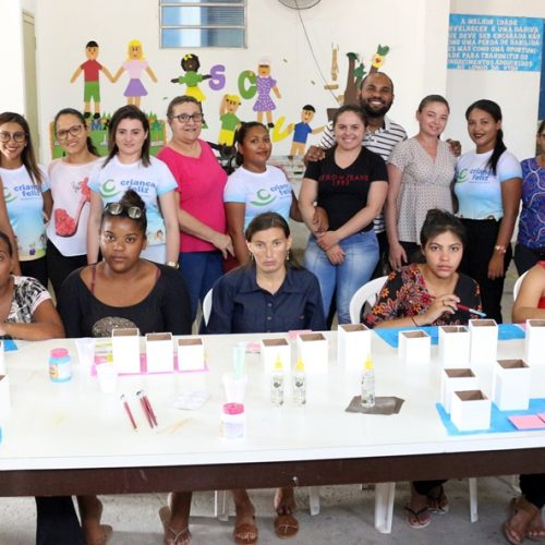 Em Massapê, Assistência Social promove oficinas com gestantes do 'Criança Feliz'