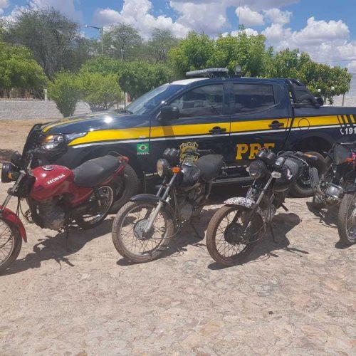 PRF realiza operação no município de Marcolândia e três pessoas são detidas