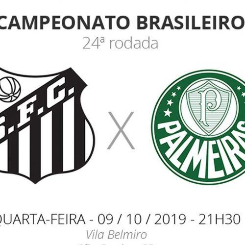 Santos x Palmeiras: tudo o que você precisa saber sobre o jogo da rodada #24