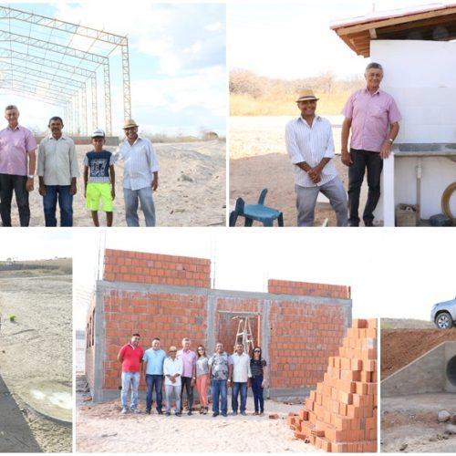 Em Patos do Piauí, comunidade rural é contemplada com obras importantes e moradores agradecem