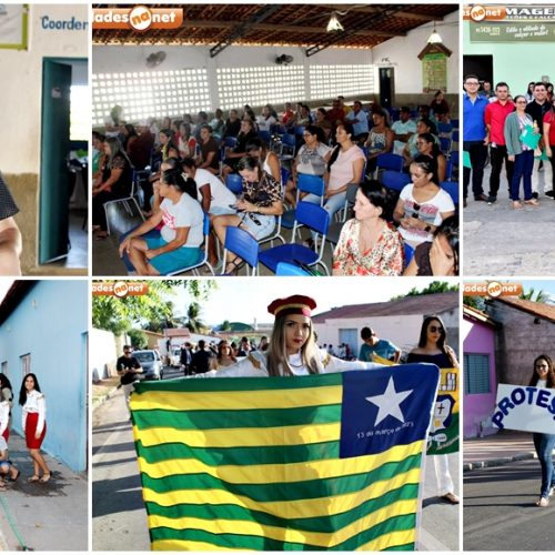 ALEGRETE│Palestra e caminhada marcam 2º dia do IV Festival Estudantil de Identidade Cultural da U.E. ASA; fotos