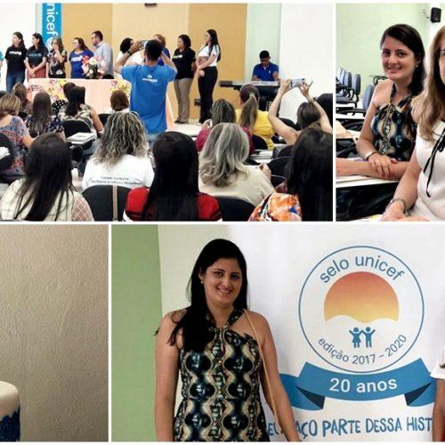 SÃO JULIÃO│Membros da Comissão Intersetorial participam do 5º Ciclo de Capacitação do Selo Unicef em Oeiras