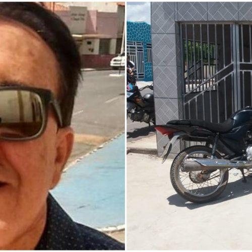 Professor de Alagoinha do Piauí colide moto em residência e fica gravemente ferido