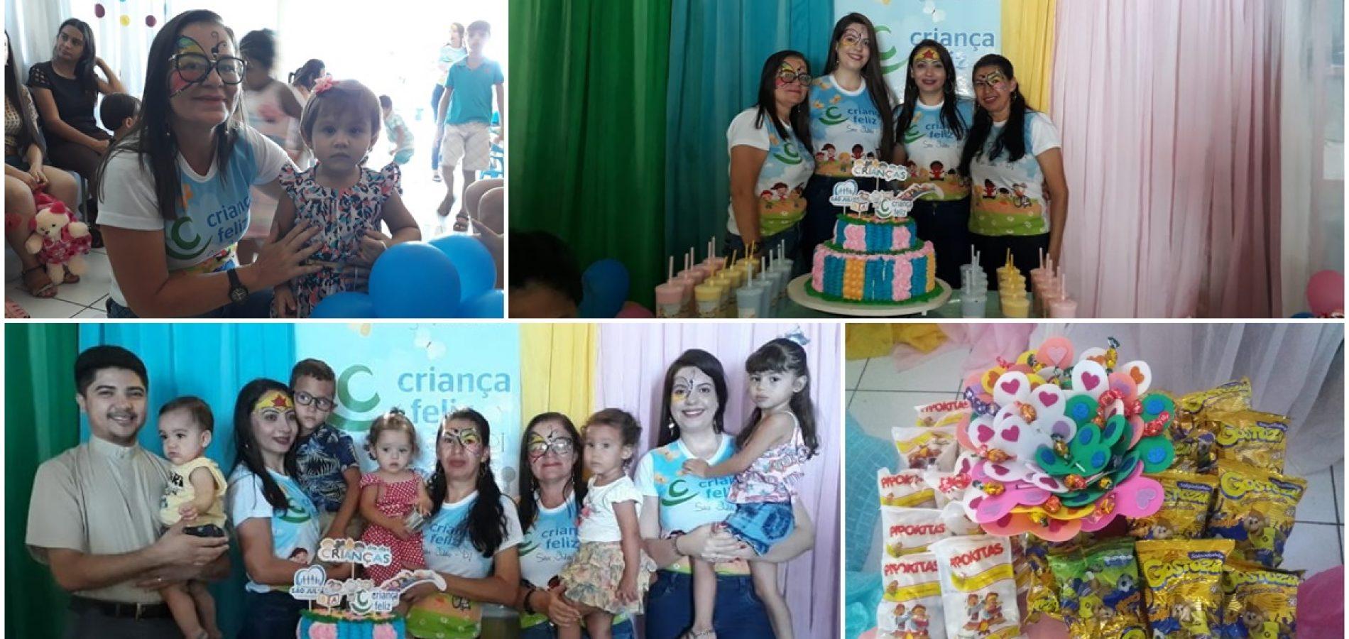 SÃO JULIÃO | Prefeitura realiza evento alusivo ao Dia das Crianças