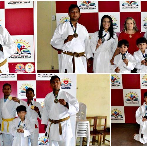 Atletas vila-novenses são medalhistas na III Copa Picos Karatê Interestilos 2019