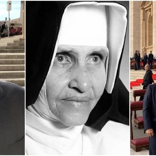 Senadores Ciro Nogueira e Elmano e o Dep. Federal Flávio Nogueira acompanham canonização da Irmã Dulce
