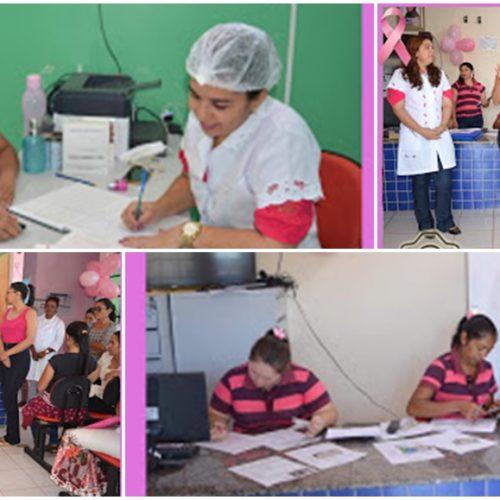 Atendimentos de saúde marcam 2º dia de atividades da campanha Outubro Rosa em Marcolândia