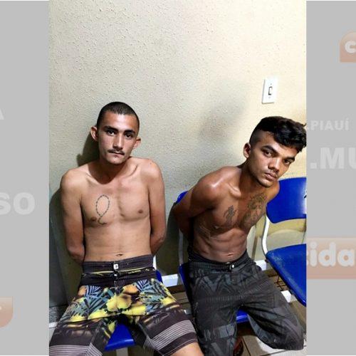 Polícia Militar prende arrombadores em São José do Piauí