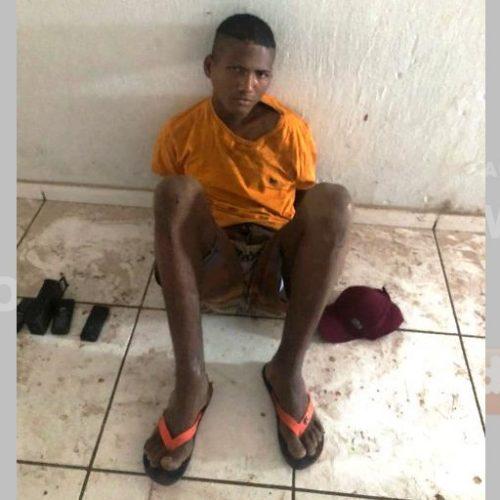Polícia de Picos prende, em flagrante, um dos maiores arrombadores dos últimos meses